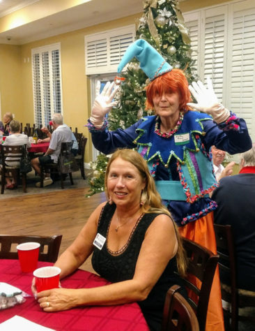 More Gulf Coast Viking lodge Juletrefest fun with Ann Krause and Marcia Erickson