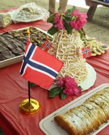 Some delightful desserts were on display for the Maine Nordmen Syttende Mai Parade!